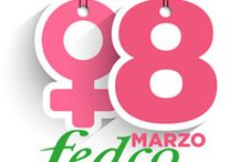 ¡Feliz día de la Mujer! / ¡En Fedco celebramos uno  de nuestros días favoritos! ¡Feliz día Mujer!