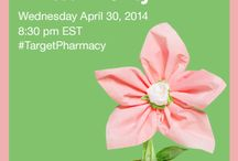 #TargetPharmacy Twitter Party Target Canada / Here are images and details on the Target Canada Pharmacy. Follow the hashtag #Target Pharmacy and also join us on the twitter party on Wednesday April 30, 2014 at 8:30pm EST