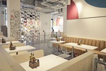 Inspiration: Cafe Interiors / Inspiration for your cafe interior