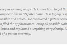 Testimonials / Read some of the testimonials from our satisfied clients about our trademark services. Call 855.433.2226 for more information.