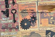 Pocket Pages ~ AlteredPages / AlteredPages.com designs and instructions for Pocket Pages