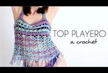 Poleras a crochet