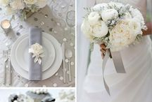 Grey & Silver Wedding