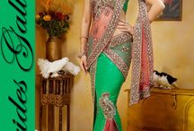 Indian Sari / The success of the Saree is attributed to its total simplicity, practical comfort, and sense of luxury a woman experiences when she wears one.  Simplicity is the main gem of a lady and likewise is a saree simple and comfort being the features that attribute to its success.