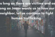 Anti-Human Trafficking / We cannot ignore modern slavery