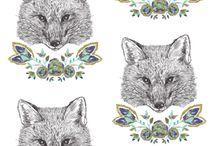 Fabrics / by Sue Brown