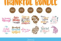 Thanksgiving SVG Files / Thanksgiving SVG Files by SavanasDesign Find them all in my shop: https://www.etsy.com/shop/savanasdesign