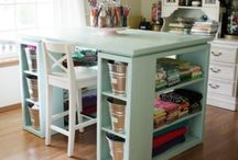 Quilting Room Storage/Cutting Ideas