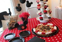 Mickey party Bella's 3rd birthday