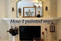 Hearth and Home / Fireplace and mantle decorating ideas.