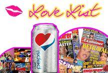 Pepsi Love List / by Celeb Dirty Laundry