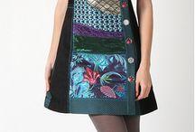 vestido de patchwork