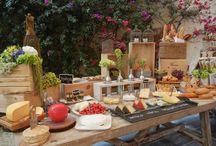 mesas de quesos