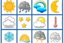 évszakok,időjárás jelzések