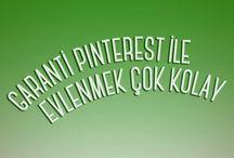 """Garanti Pinterest ile Evlenmek Çok Kolay! / Evleneceklere ve ev kuracaklara hem özel avantajlı kredi  hem de anlaşmalı markalardan ayrıcalıklı indirimler """"Garanti Pinterest İle Evlenmek Çok Kolay!"""" board'unda! Kampanya koşulları için: http://on.fb.me/13j97kJ"""