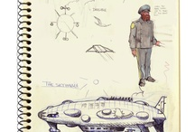 Sketchbooks/Ilustrações