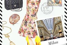 Travel Edit / Your perfect holiday dress up guide for the world's four fashion capitals!