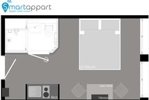 Plan des appartements