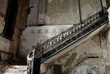 Abandoned houses...