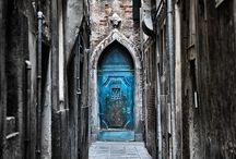 porte blu