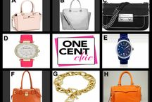 RIGHT ON FASHION / Amazing Thursday Night Choice Auction at OneCentChic 10 PM ET