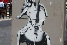 Street art/formy
