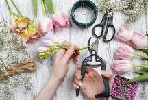 Creative France Flower Artwork and Art of Garden Workshops