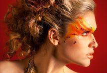 Feuer Make-up