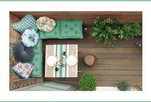 TERRAZA.BALCONES <Inspiración> / Ideas geniales para tu #terraza o #balcón