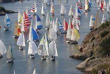 Boats! Boats! Boats! / Sailing away...
