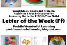 Letter of the week / by Amy Bert