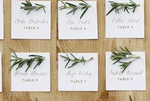 table plan - tableau -table setting