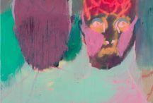 Rhys Lee - painter / painting