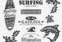 dibujos hawaianos