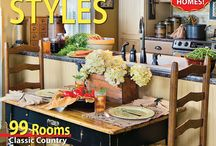 From our Home Tour 2014 Issue / Country Sampler's 2014 Home Tour issue is packed with imaginative decorating ideas for every room of your home. Tour a dozen gorgeous country homes filled with the styles you love, from primitive and farmhouse to cottage and Colonial.  / by Country Sampler Magazine