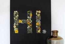 Story - gepresste Blumen