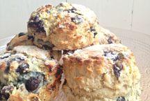 Scones / yummy scones sweet and savoury