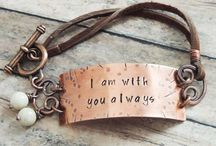 Hand Stamped Jewelry - Personalized Gifts / Beautiful, unique hand stamped jewelry - personalized gifts idea