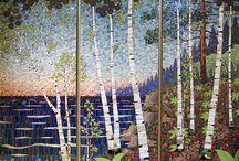 Mosaique paysages