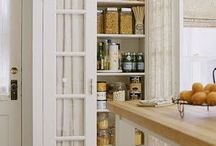 "Kitchen cabinets / by Sarah ""Tynie"" Smith"