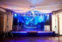 Zespół na przyjęciu weselnym / Nie tylko muzyka - również show może zagościć na Twoim weselu. / Not only the music - show must go on ... on your wedding party.