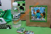 Fiesta de Minecraft/ Minecraft party