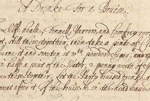 Seventeenth century / Living history