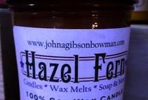 Hazel Fern Candles & Soap