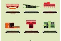 Infografías de arquitectura y diseño