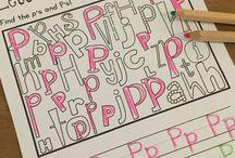 Alphabet Learning Activities