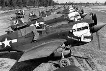 P 40 Warhawks