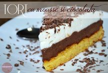 Tort mousse si ciocolată