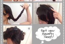 Hair, makeup, nails
