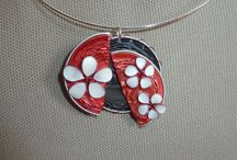 creations capsules nespresso / Creations de bijoux à partir de capsules de café